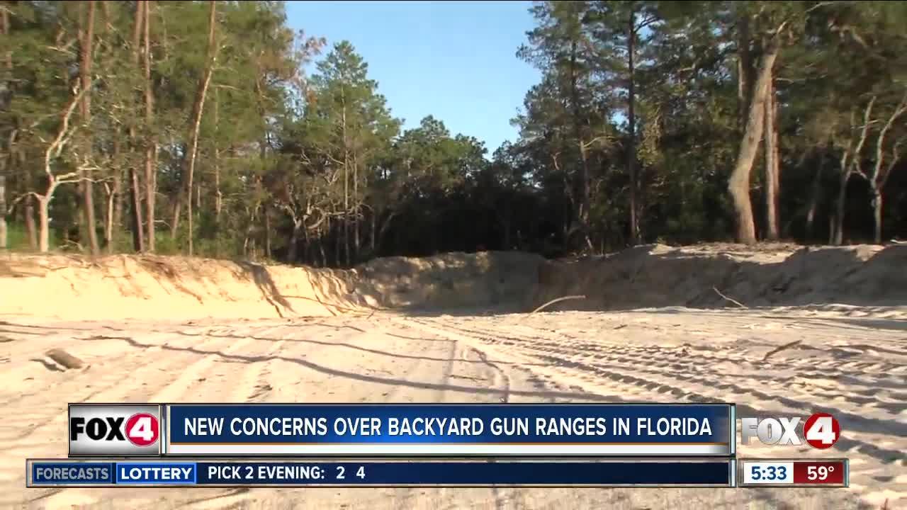 New concerns over backyard gun ranges in Florida