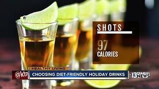 Choosing diet-friendly holiday drinks
