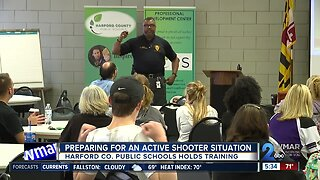 Harford County School staff prepare for active shooter situation