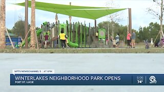 28-acre outdoor park opens in Port St. Lucie for residents to enjoy