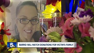 Restaurant will match donations for family of woman killed in Cleveland