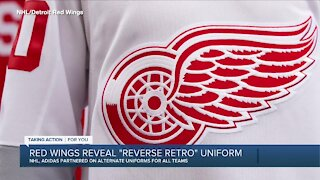 Red Wings reveal Reverse Retro uniform