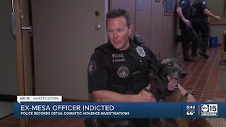 Mesa officer faces domestic violence indictment