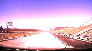Trippy Drive Lapse Sample Footage Brinno TLC120 Cam