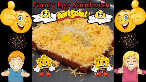 Fancy Egg Sandwich Idea - This Is Easy and Delicious!