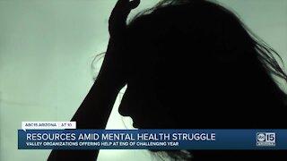 Resources amid mental health struggle