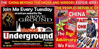 The Above-Ground Underground Podcast Episode 7 – China Beyond the Smoke and Mirrors – Part One