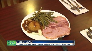 Free dinner for those alone on Christmas Eve in Westland