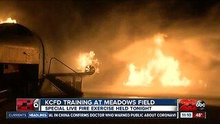 KCFD training at Meadows Field