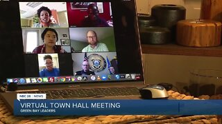 Green Bay leaders hold a Virtual Town Hall to discuss privilege, racism and changes