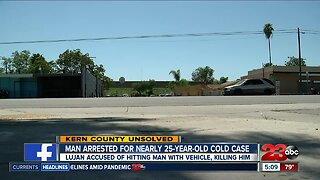 Man arrested in 25-year-old cold case