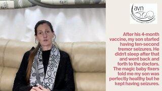 Vaxxed Down Under - Carolyn shares how her son suddenly developed seizures