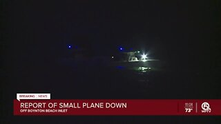Agencies search for small plane after report of crash