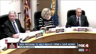 New program to help reduce crime and save money
