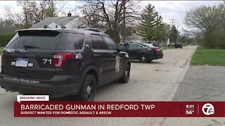 Barricaded gunman situation in Redford Township
