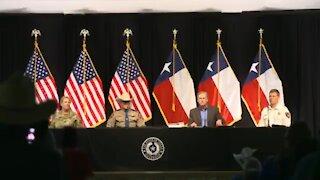 Gov Abbott: Texas Will Build A Border Wall & Restore Order