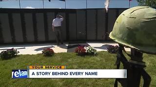 Vietnam Wall replica comes to Northeast Ohio