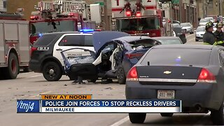 Milwaukee-area police joining forces to stop reckless driving