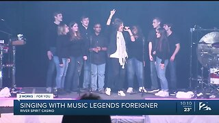 Cascia Hall Students Perform With Legendary Band Foreigner