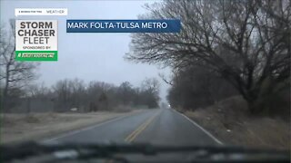 Tracking icy conditions in Green Country