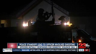 Police standoff leads to officer involved shooting