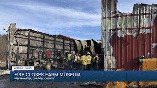 Fire closes Carroll County Farm Museum