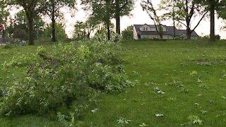 Storms sweep through KCK neighborhood