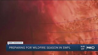 Wildfire season here in Southwest Florida