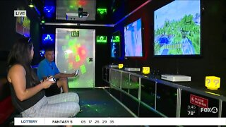 A fun look inside Rolling Video Games truck in SWFL