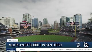 MLB playoff bubble coming to San Diego, reports say