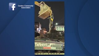 Capt. O'Donnell statue removed from Canton