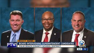 Meeting to pick new Palm Beach County Superintendent of Schools