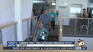 Cameron Family YMCA Showcases Upgraded Facility