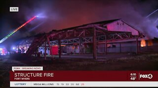 Multiple crews respond to fire in Fort Myers