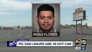 Toddler left in car with no air conditioning at Glendale drive-in theater