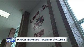 K-12 schools prepare for potential school closures