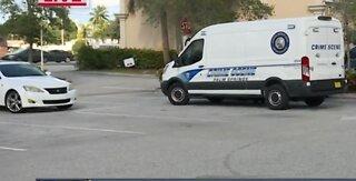 Crime scene investigation in Palm Springs