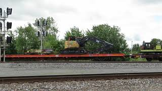 CSX Maintenance Train from Fostoria, Ohio August 29, 2020