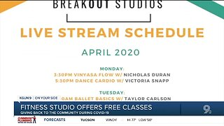 Breakout Studios brings a free dance parties to your living room through pandemic