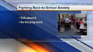 How to help kids cope with back-to-school anxiety