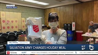 Salvation Army adjusts Thanksgiving meal for COVID-19 pandemic safety
