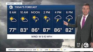 Metro Detroit Forecast: More storms on Wednesday