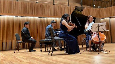 Brahms Piano Trio in A major Op. Posth: II. Vivace (Nicht zu Schnell) – Trio