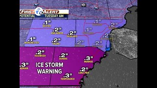 Winter Storm Impacts Metro Detroit