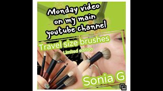 SONIA G BRUSHES in ACTION