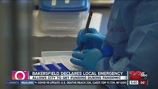 Bakersfield declares local emergency