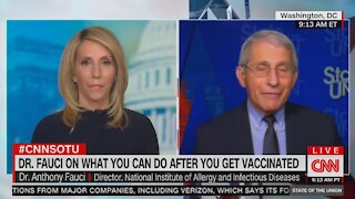 Fauci: US Still Wearing Masks in 2022, Still Won't See Family Despite Being Vaccinated