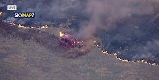 Fire near San Dimas, California | Breaking news