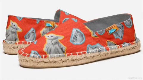 Disney Debuts Shoes Featuring Baby Yoda