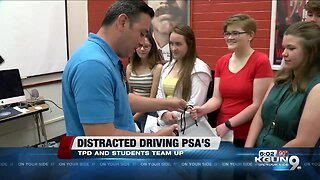Tucson high school students fight distracted driving
